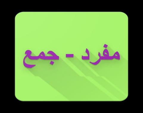 شناخت مفرد و جمع در زبان فارسی (پایه پنجم)